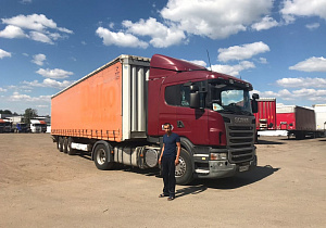 Scania 2011 г., Krone SD 2011 г.