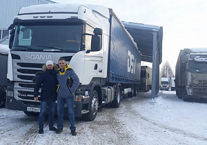 Scania 2014г. Krone 2011г.